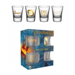 LORD OF THE RINGS - Shot Glass - Ring 146391  Glas Canvas