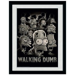 SIMPSONS - Collector Print 30X40 - The Walking Dumb