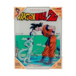 DRAGON BALL - GLASS PRINT - Freezer  - 30X40 Cm
