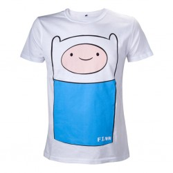 ADVENTURE TIME - T-Shirt Finn Full Front (S) 146235  T-Shirts Adventure Time