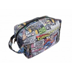 SUPERMAN - WASH BAG - Superman Flys
