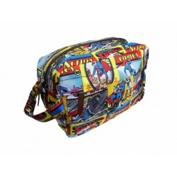 SUPERMAN - WASH BAG - Superman Comic Strip