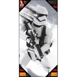 STAR WARS 7 - GLASS POSTER - Stromtrooper Snow - 50X25 cm