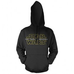 STAR WARS 7 - Sweatshirt The Force Awakens Logo Hoodies Black (M) 145171  Hoodies