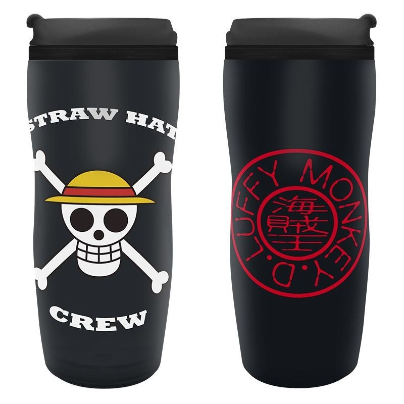 ONE PIECE - Koffiebeker to go 355ml - Luffy