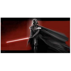 STAR WARS - GLASS PRINT - Darth Vader - 60X30 cm