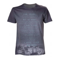 PLAYSTATION - T-Shirt I Have Lived (M) 144916  Playstation