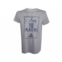 PLAYSTATION - T-Shirt This Is For The Players (S)