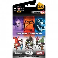 DISNEY INFINITY 3 - Toy Box Game Piece Takeover 144877  Disney Figurines