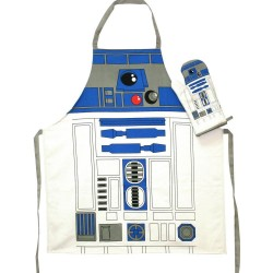 STAR WARS - Apron and Oven Mitt - R2-D2 (PLASTIC BOX)