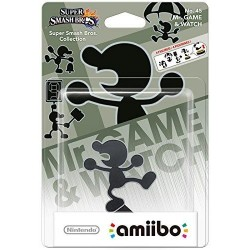 AMIIBO 45 - Mr Gamewatch 144726  Amiibo's