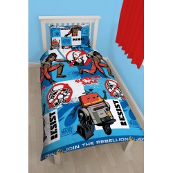 STAR WARS - Bed cover 135X200 - REBELS TAG 02 (Microfibre) 144631  Dekens & Lakens