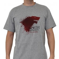 GAME OF THRONES - T-Shirt The North ... Man (L) 144475  T-Shirts