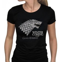 GAME OF THRONES - T-Shirt Winter Is Coming Femme (L) 144452  T-Shirts Vrouwen