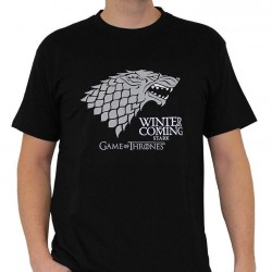 GAME OF THRONES - T-Shirt Winter Is Coming Men (L) 144447  T-Shirts Mannen