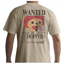 ONE PIECE - T-Shirt Basic Homme Wanted Chopper (XS) 144317  T-Shirts One Piece