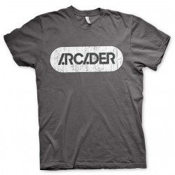 PIXELS - T-Shirt Arcader Distressed - MEN (S) 144213  T-Shirts Mannen
