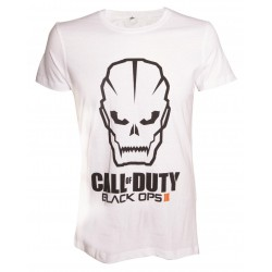 CALL OF DUTY BLACK OPS III - T-Shirt Black Ops III FACE - White (XL) 144165  T-Shirts Call Of Duty