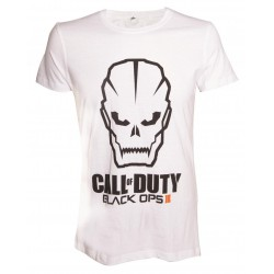 CALL OF DUTY BLACK OPS III - T-Shirt Black Ops III FACE - White (L) 144164  T-Shirts Call Of Duty