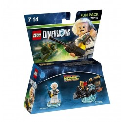 LEGO DIMENSIONS - Fun Pack - Back to the Futur Doc Brown