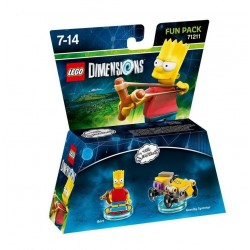 LEGO DIMENSIONS - Fun Pack - Simpsons Bart 144000  Games Divers