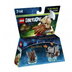 LEGO DIMENSIONS - Fun Pack - Lord Of The Ring Gimli 143992  Games Divers