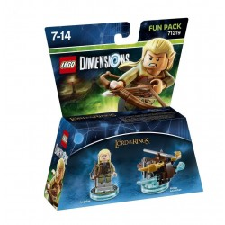 LEGO DIMENSIONS - Fun Pack - Lord Of The Ring Legolas 143991  Figurines