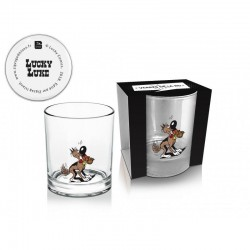 LUCKY LUKE - Whisky Glas 270 ml - Rantanplan