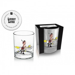 LUCKY LUKE - Whisky Glas 270 ml - Luke + Jolly Jumper 01