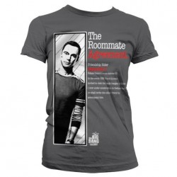 THE BIG BANG - T-Shirt The Roommate Agreement Girl - Grey (S) 143844  T-Shirts