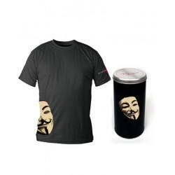 VENDETTA - T-Shirt - Black - Mask - DELUXE EDITION (XXL) 143808  T Shirts alles