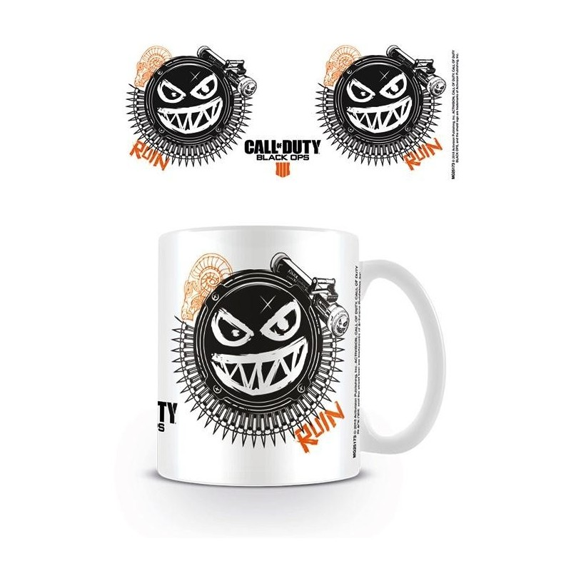 CALL OF DUTY BLACK OPS 4 - Beker - 315 ml - Ruin Smile Icon