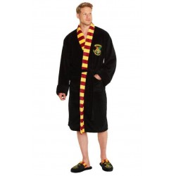 HARRY POTTER - Bathrobe Mens - Hogwarts - One Size