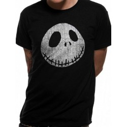 NIGHTMARE BEFORE CHRISTMAS - T-Shirt IN A TUBE- Jack Face (S) 169216  T-Shirts Nightmare Before Christmas