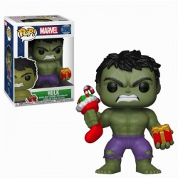 MARVEL - Bobble Head POP N° 398 - Holiday Hulk