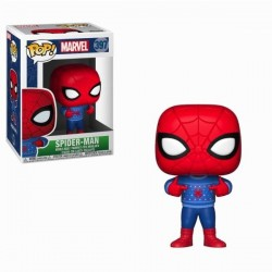 MARVEL - Bobble Head POP N° 397 - Holiday Spider-Man