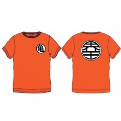DRAGON BALL Z - T-Shirt Symbol - ORANGE (S)