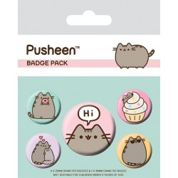 PUSHEEN - Pack 5 Badges - Hi 169141  Badges