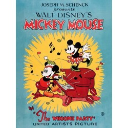 DISNEY - Canvas 60X80 '18mm' - Mickey Mouse The Whoopee Party 169062  Frames