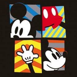 DISNEY - Canvas 40X40 '18mm' - Mickey Mouse Framed 169059  Frames