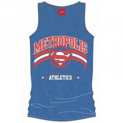 SUPERMAN - Top Tank Metropolis Athletics (S) 143666  Top Tank Shirts