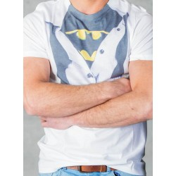BATMAN - T-Shirt Costume (S) 143618  Alles