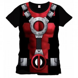 DEADPOOL - MARVEL T-Shirt Costume Officiel (XL) 143586  Alles