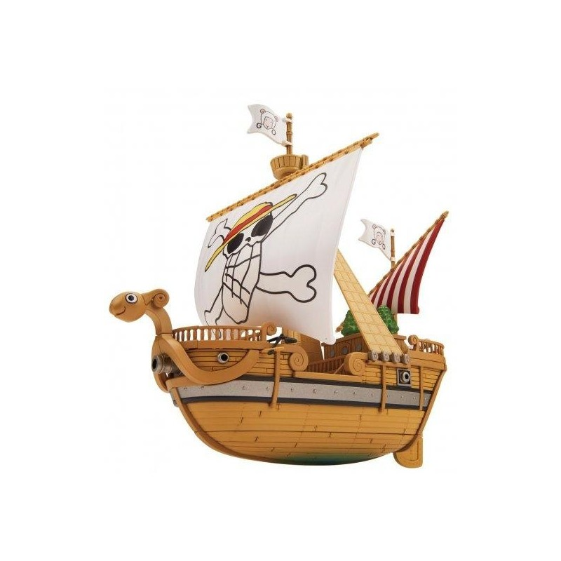 ONE PIECE - Model Kit - Ship - Going Merry Memorial Color Vers - 15 CM 169022  Figurines