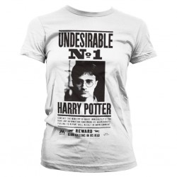 HARRY POTTER - T-Shirt Wanted Poster - GIRL (XL)