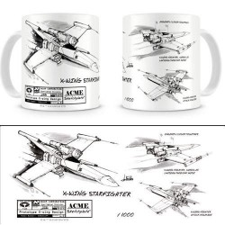 STAR WARS - Mug - X-Wing White 143162  Drinkbekers - Mugs