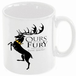 GAME OF THRONES - Beker - Ours is the Fury (Baratheon)
