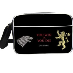 GAME OF THRONES - Messenger Bag - You Win or You Die