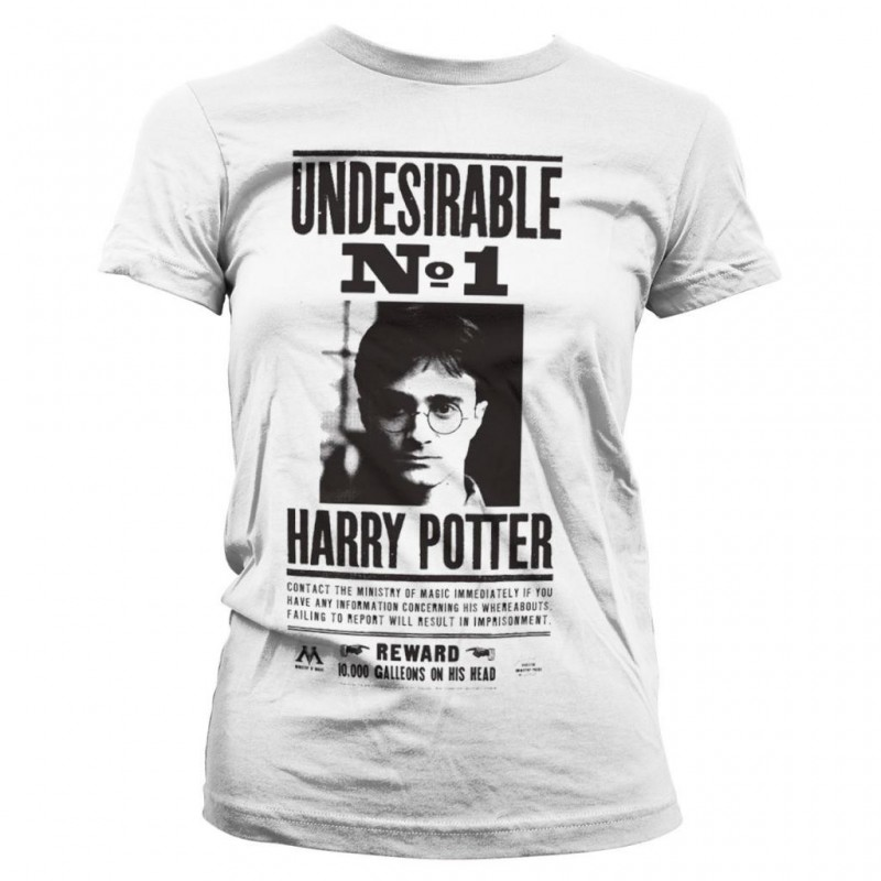 HARRY POTTER - T-Shirt Wanted Poster - GIRL (L) 171429  T-Shirts Harry Potter