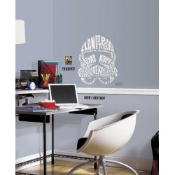STAR WARS - Wall Decals - Typographic Clone Trooper 142969  Muur Stickers